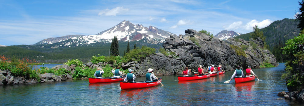 Cascade Lakes Canoeing