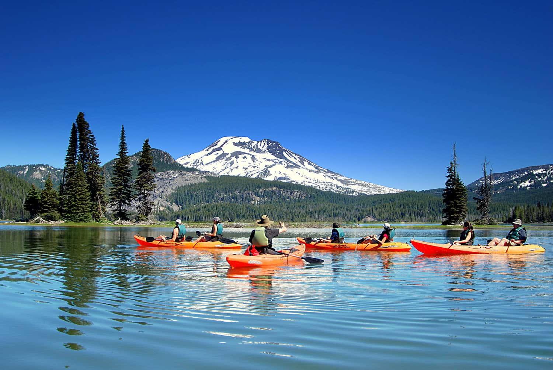 Cascade Lakes Kayak Tours