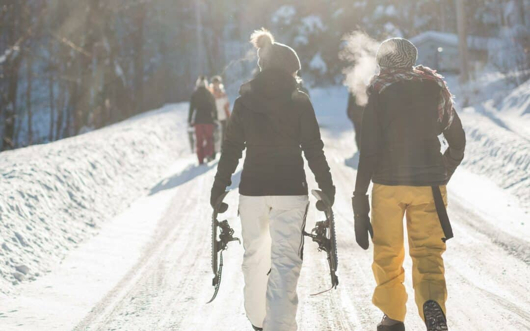 Elk Lake Resort a Great Winter Getaway – And Getting There is Half the Fun
