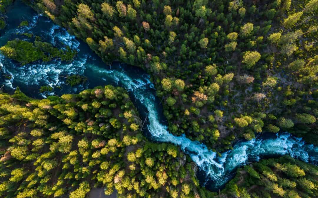 The Rivers in Central Oregon